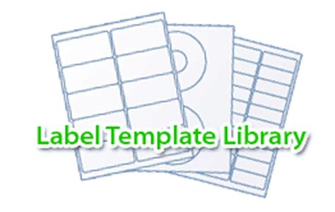 label template library