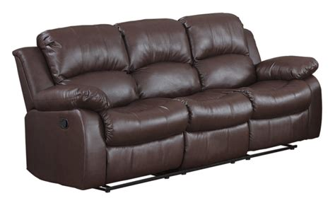 Brown Leather Sofa Brown Leather Home Furniture Design