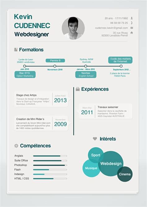 infographic resume template powerpoint free infographic resume template free 3 35
