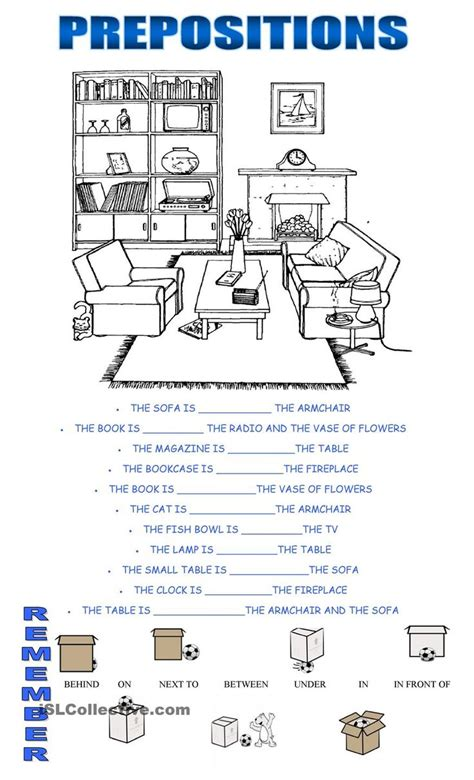esl printable worksheets prepositions of place prepositions print it now pinterest prepositions