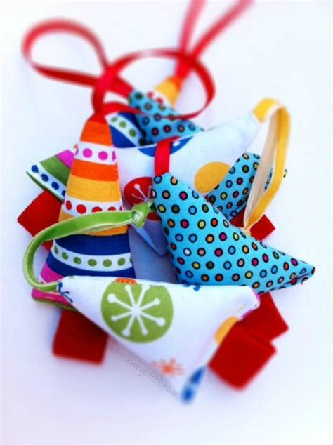 free sewing pattern christmas mini tree ornaments