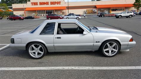 lx 5 0 mustang for sale 1989 ford mustang lx 5 0 notchback for sale photos