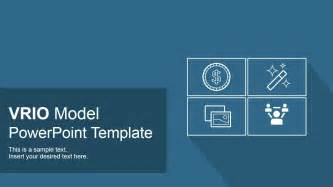 vrio model powerpoint template business powerpoint templates