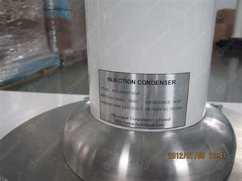 coupling capacitor capacitance voltage divider 75kv 100kv and 200kv ac test transformer