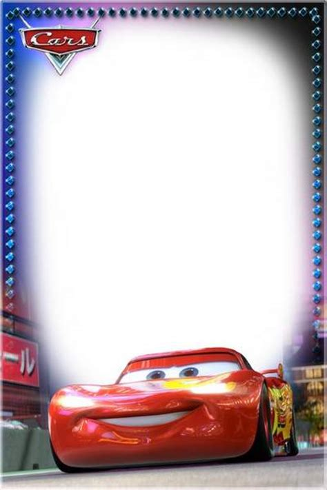 Disney Cars Frame