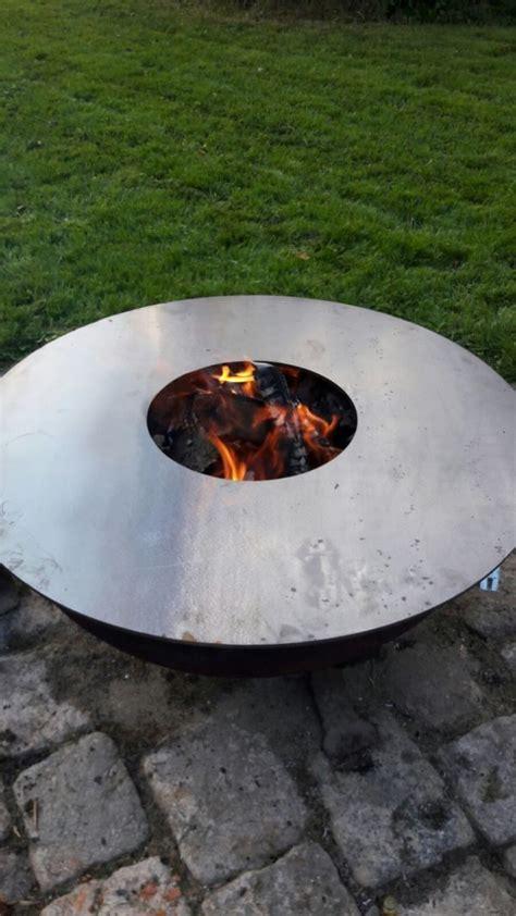 feuerschale brennpaste flammo grillring 80 cm steel grill shop 249 00