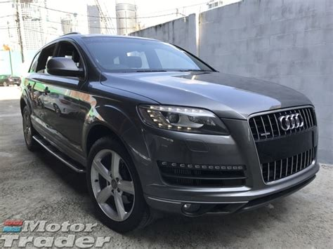 Audi Financial Services Payoff Phone Number 2012 Audi Q7 3 0 Tdi Panaromic Roof Bose Sound Spec