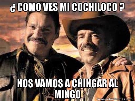 Memes De Cochiloco - como ves mi cochiloco nos vamos a chingar al mingo