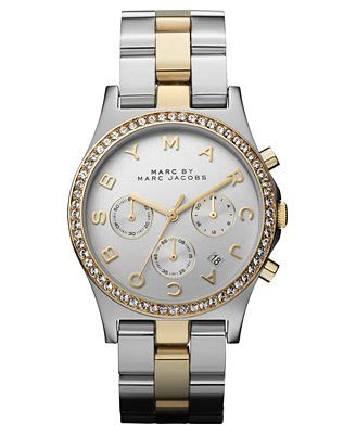 Marc Uhren marc by marc s chronograph two tone