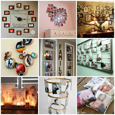 ways to display pictures 35 creative diy ways to display your family photos
