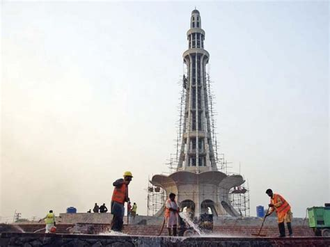 Minar E Pakistan Essay by Minar E Pakistan Gets Major Facelift The Express Tribune