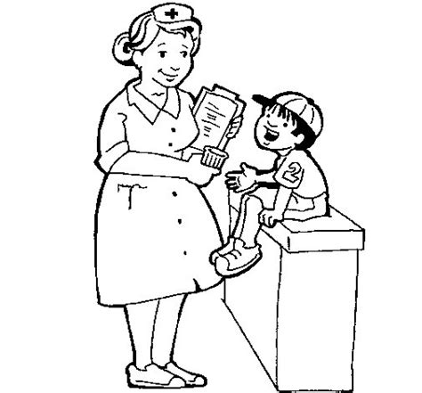 boy nurse coloring page free coloring pages of female doctors