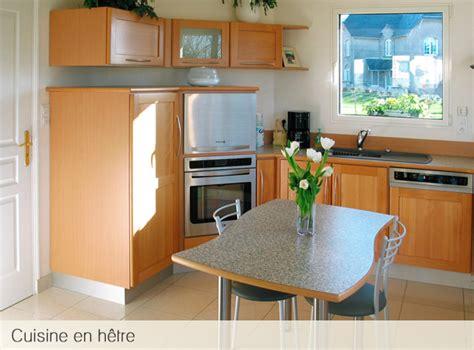 cuisine en hetre massif atelier du garo cuisines en bois massif 233 rable