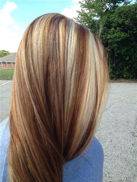 choosing a shade of blonde hair color nice looking fall colors in blond hair nice contrast of varying