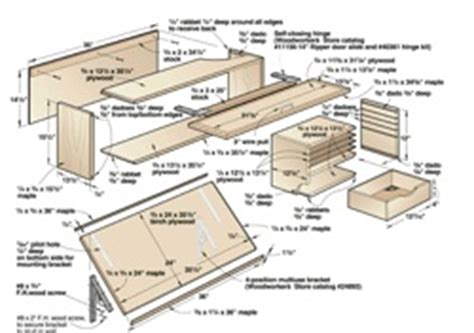 Free Drafting Table Plans Drafting Table Woodworking Plans And Information At Woodworkersworkshop 174