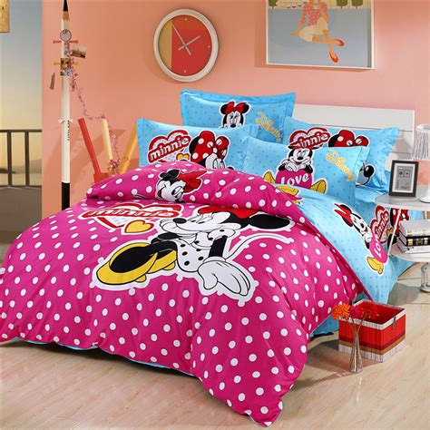 full size minnie mouse comforter set shop popular minnie mouse comforter set full from china