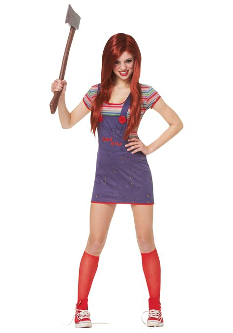 halloween costumes for teen girls teen sassy chucky costume