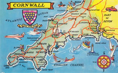 map uk cornwall cornwall antique maps maps of cornwall vintage maps