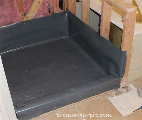 Install Shower Pan Liner by How Much Cost To Install Shower Pan Prioritymine