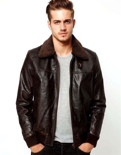 leather jacket asos leather jackets collection 2012 13 for casual