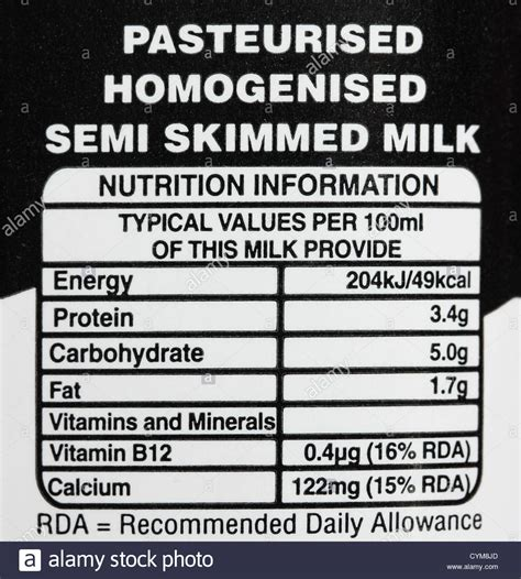 Tshirt Milk Pasteurised nutritional value of skimmed milk per 100ml nutrition ftempo