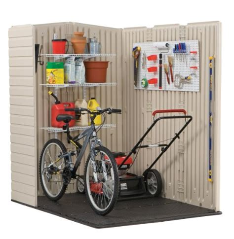 Rubbermaid Shed Wall Anchors by Rubbermaid Plastic Large Outdoor Storage Shed 159 Cubic