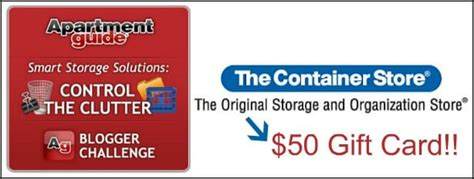 Container Store Gift Card - birthday giveaway 9 50 container store gift card andrea dekker