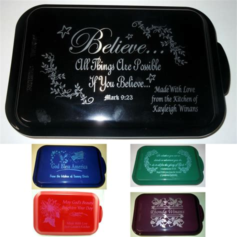 personalized aluminum cake pans custom gifts mothers day
