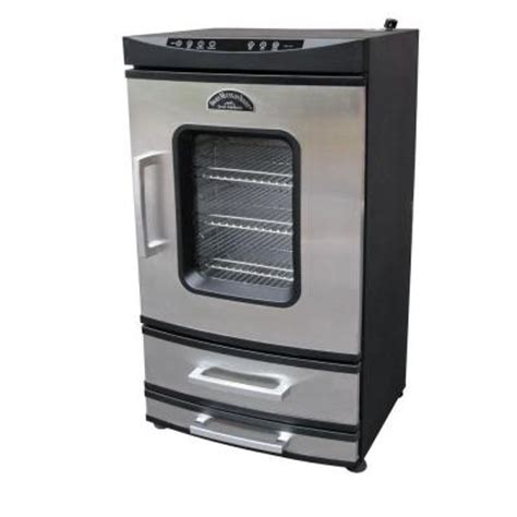 smoky mountain 40 in electric smoker with 2 drawers 32902
