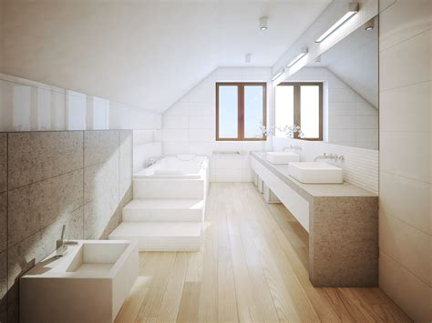 smart tips renovating spacious bathroom interior designs