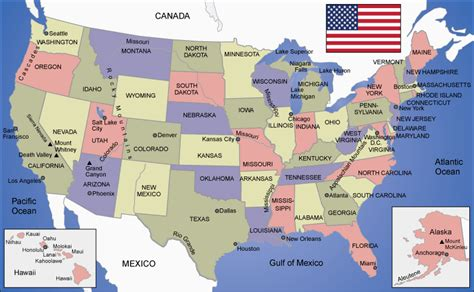 The USA   Geography, Regions and Dialects   Engelsk   NDLA