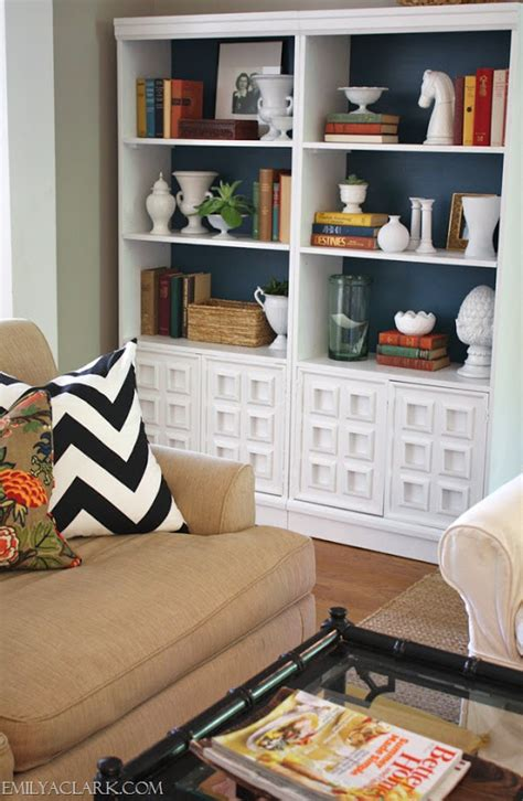 ideas for painting bookshelves three options for the back of my built in open shelves