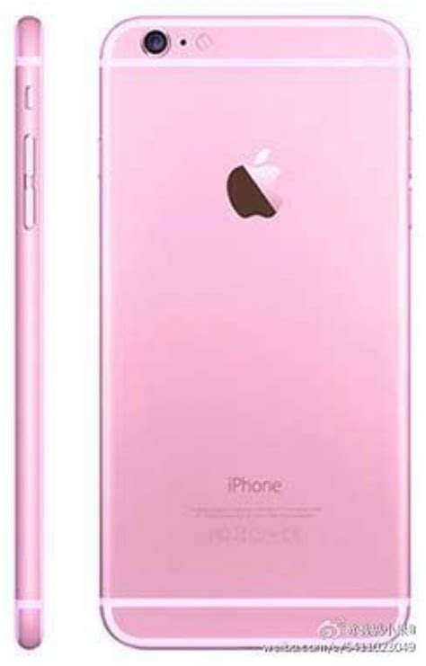 imagenes iphone 8 rosado iphone 6s aparece en fotos en color rosado poderpda