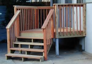 Small Deck Landing Ideas » Home Design 2017