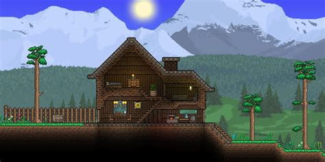Http Forums Terraria Org Index Php Attachments Cabin Jpg House Layout Terraria