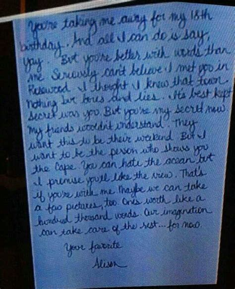 up letter to liar 17 best images about pretty liars on