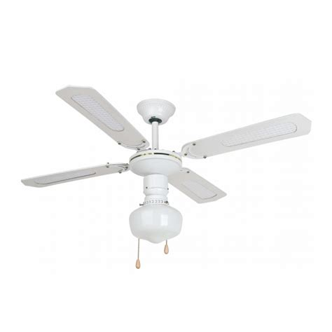 retro style ceiling fans retro ceiling fan in white with eco bulb 42w