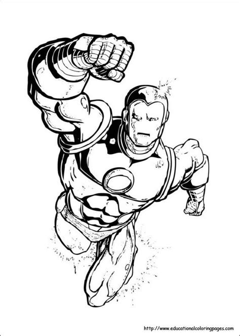 free printable coloring pages ironman iron man coloring pages free for kids