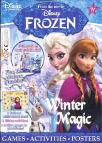 disney frozen magazine subscription children magazines
