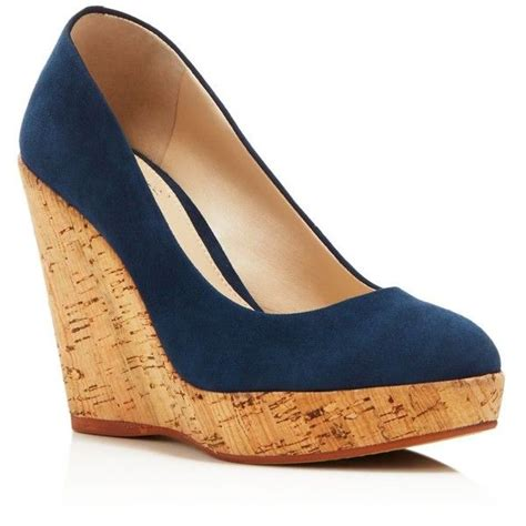 25 best ideas about blue wedge shoes on blue