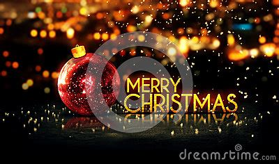 red gold merry christmas bokeh beautiful  background stock photo image