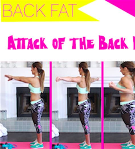 exercises to get rid of back