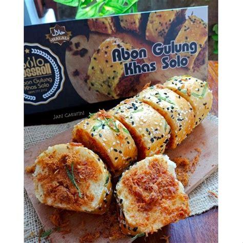 jual abon gulung ayam original khas solo floss roll enak