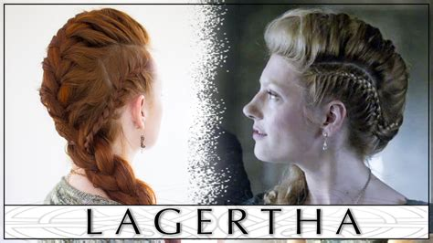 how to do your hair like vikings lagertha vikings hair tutorial lagertha s big french braid faux