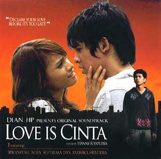film love is cinta ost love is cinta