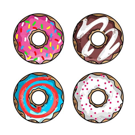 How To Draw A Donut With Sprinkles