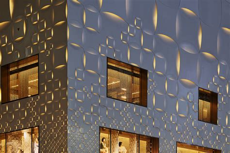 damier pattern history jun aoki s tokyo louis vuitton store features patterned