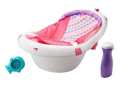 fisher price pink bathtub fisher price 4 in 1 sling n seat tub girl walmart canada