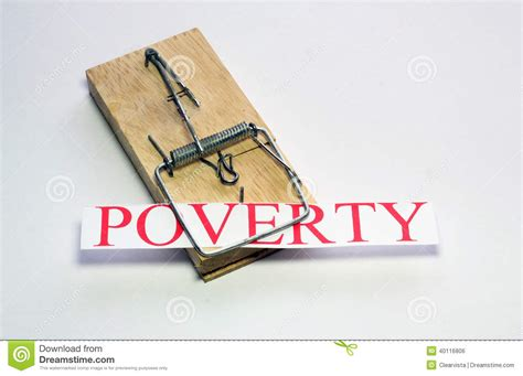 Poverty Trap. Stock Photo   Image: 40116806