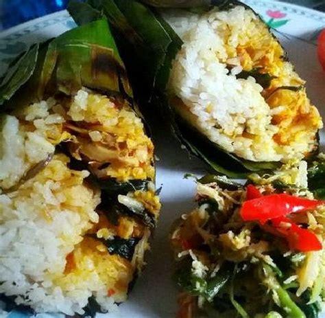 cara membuat menu nasi bakar resep nasi bakar ayam teri dan cara membuat bumbunya